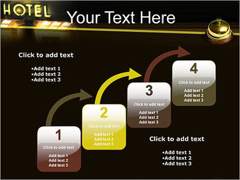 Hotel Service PowerPoint Template - Slide 20