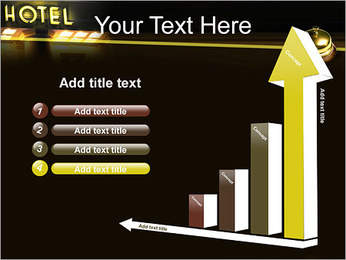 Hotel Service PowerPoint Template - Slide 6