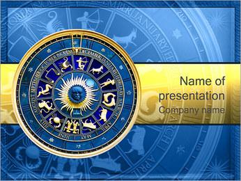Signes du Zodiaque Modèles des présentations  PowerPoint