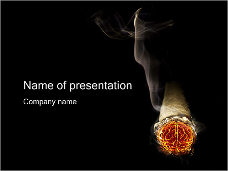 Smoke brain powerpoint template backgrounds id 0000000990 smoke brain powerpoint templates toneelgroepblik Images