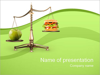 Food Choice PowerPoint Template