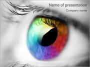 Beautiful Eye PowerPoint Templates