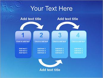 Gouttes d'eau H2O en forme Modèles des présentations  PowerPoint - Diapositives 11