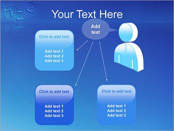 Gouttes d'eau H2O en forme Modèles des présentations  PowerPoint - Diapositives 12