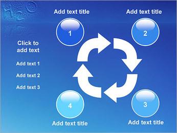 Gouttes d'eau H2O en forme Modèles des présentations  PowerPoint - Diapositives 14