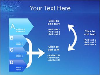 Gouttes d'eau H2O en forme Modèles des présentations  PowerPoint - Diapositives 16