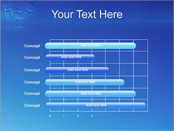 Gouttes d'eau H2O en forme Modèles des présentations  PowerPoint - Diapositives 17