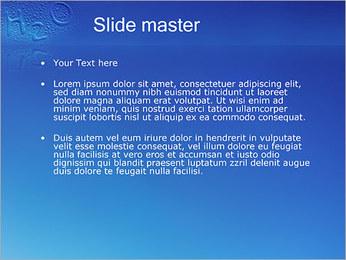 Gouttes d'eau H2O en forme Modèles des présentations  PowerPoint - Diapositives 2