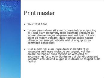 Gouttes d'eau H2O en forme Modèles des présentations  PowerPoint - Diapositives 24
