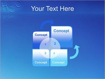Gouttes d'eau H2O en forme Modèles des présentations  PowerPoint - Diapositives 5