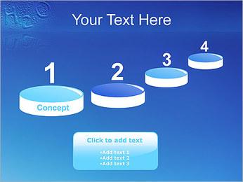 Gouttes d'eau H2O en forme Modèles des présentations  PowerPoint - Diapositives 7