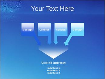 Gouttes d'eau H2O en forme Modèles des présentations  PowerPoint - Diapositives 8