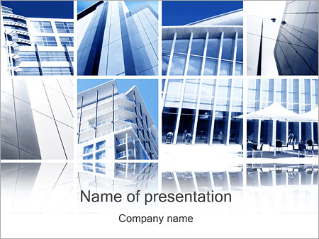 modern architecture powerpoint template backgrounds google slides