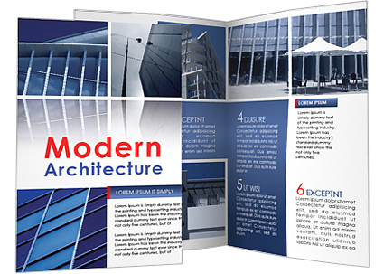 Modern Architecture Brochure Template & Design Id 0000001001