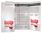 Online Help Brochure Templates
