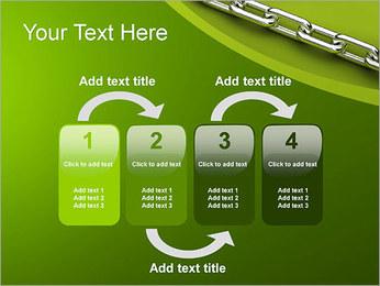 Chain Link Plantillas de Presentaciones PowerPoint - Diapositiva 11