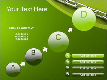 Chain Link Plantillas de Presentaciones PowerPoint - Diapositiva 15