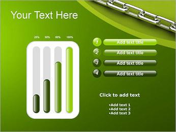 Chain Link Plantillas de Presentaciones PowerPoint - Diapositiva 18
