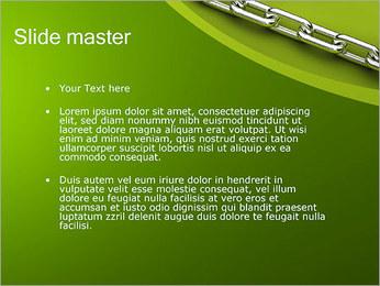 Chain Link Plantillas de Presentaciones PowerPoint - Diapositiva 2