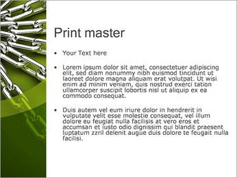 Chain Link Plantillas de Presentaciones PowerPoint - Diapositiva 24