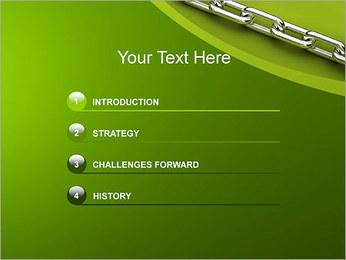 Chain Link Plantillas de Presentaciones PowerPoint - Diapositiva 3