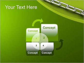 Chain Link Plantillas de Presentaciones PowerPoint - Diapositiva 5