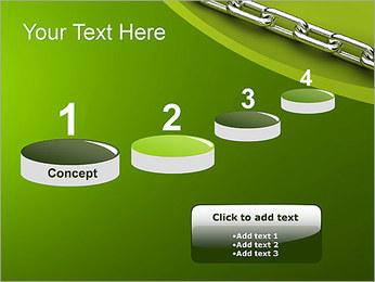 Chain Link Plantillas de Presentaciones PowerPoint - Diapositiva 7