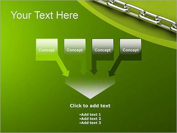 Chain Link Plantillas de Presentaciones PowerPoint - Diapositiva 8