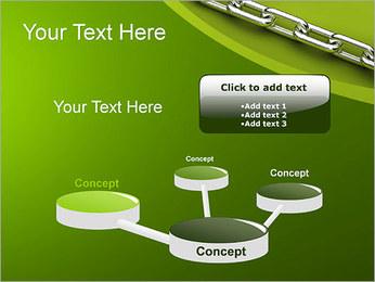 Chain Link Plantillas de Presentaciones PowerPoint - Diapositiva 9