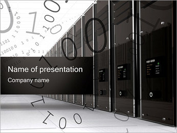 Servers PowerPoint Template