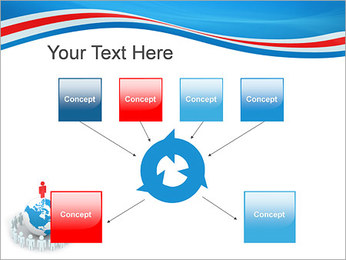Pessoas em todo o mundo Modelos de apresentações PowerPoint - Slide 10