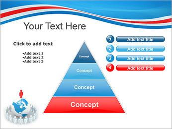 Pessoas em todo o mundo Modelos de apresentações PowerPoint - Slide 22