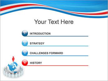 Pessoas em todo o mundo Modelos de apresentações PowerPoint - Slide 3
