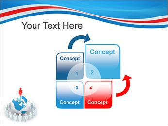 Pessoas em todo o mundo Modelos de apresentações PowerPoint - Slide 5