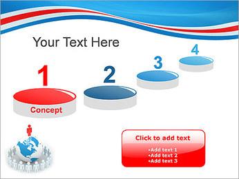 Pessoas em todo o mundo Modelos de apresentações PowerPoint - Slide 7