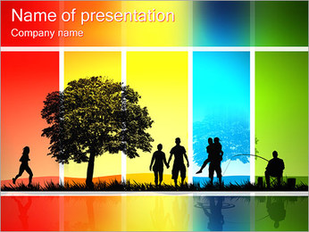 Rekreation PowerPoint presentationsmallar