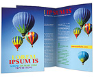 Hot Air Balloons Brochure Templates