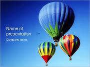 Hot Air Balloons PowerPoint Templates