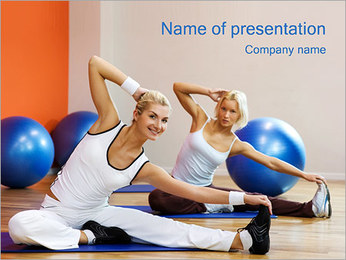 Aerobics PowerPoint Template