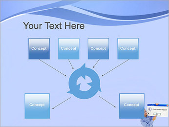 Contactar al Soporte Plantillas de Presentaciones PowerPoint - Diapositiva 10