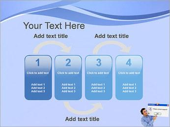 Contactar al Soporte Plantillas de Presentaciones PowerPoint - Diapositiva 11