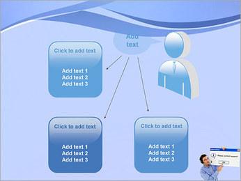Contactar al Soporte Plantillas de Presentaciones PowerPoint - Diapositiva 12
