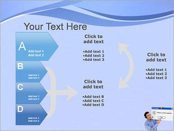 Contactar al Soporte Plantillas de Presentaciones PowerPoint - Diapositiva 16