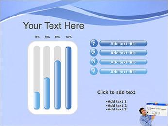 Contactar al Soporte Plantillas de Presentaciones PowerPoint - Diapositiva 18