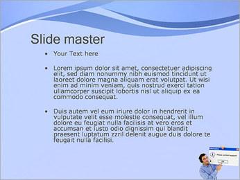 Contactar al Soporte Plantillas de Presentaciones PowerPoint - Diapositiva 2