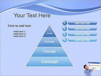 Contactar al Soporte Plantillas de Presentaciones PowerPoint - Diapositiva 22