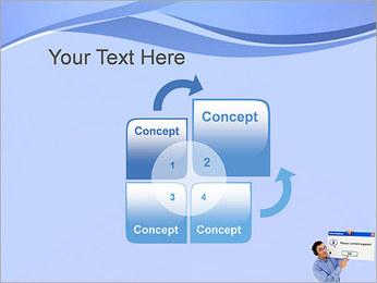 Contactar al Soporte Plantillas de Presentaciones PowerPoint - Diapositiva 5