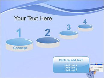 Contactar al Soporte Plantillas de Presentaciones PowerPoint - Diapositiva 7