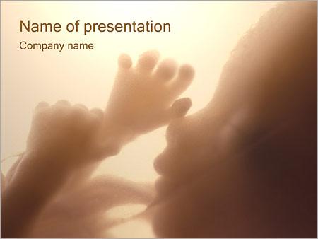 Foetus humain Modèles des présentations  PowerPoint