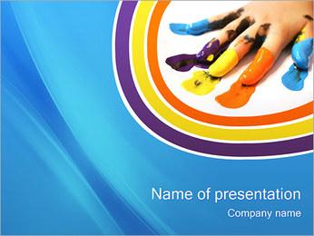 Colorisée Modèles des présentations  PowerPoint